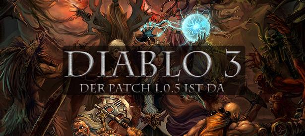 Diablo 3 Patch 1.0.5 ist da