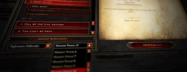 Diablo 3 Monsterstärke